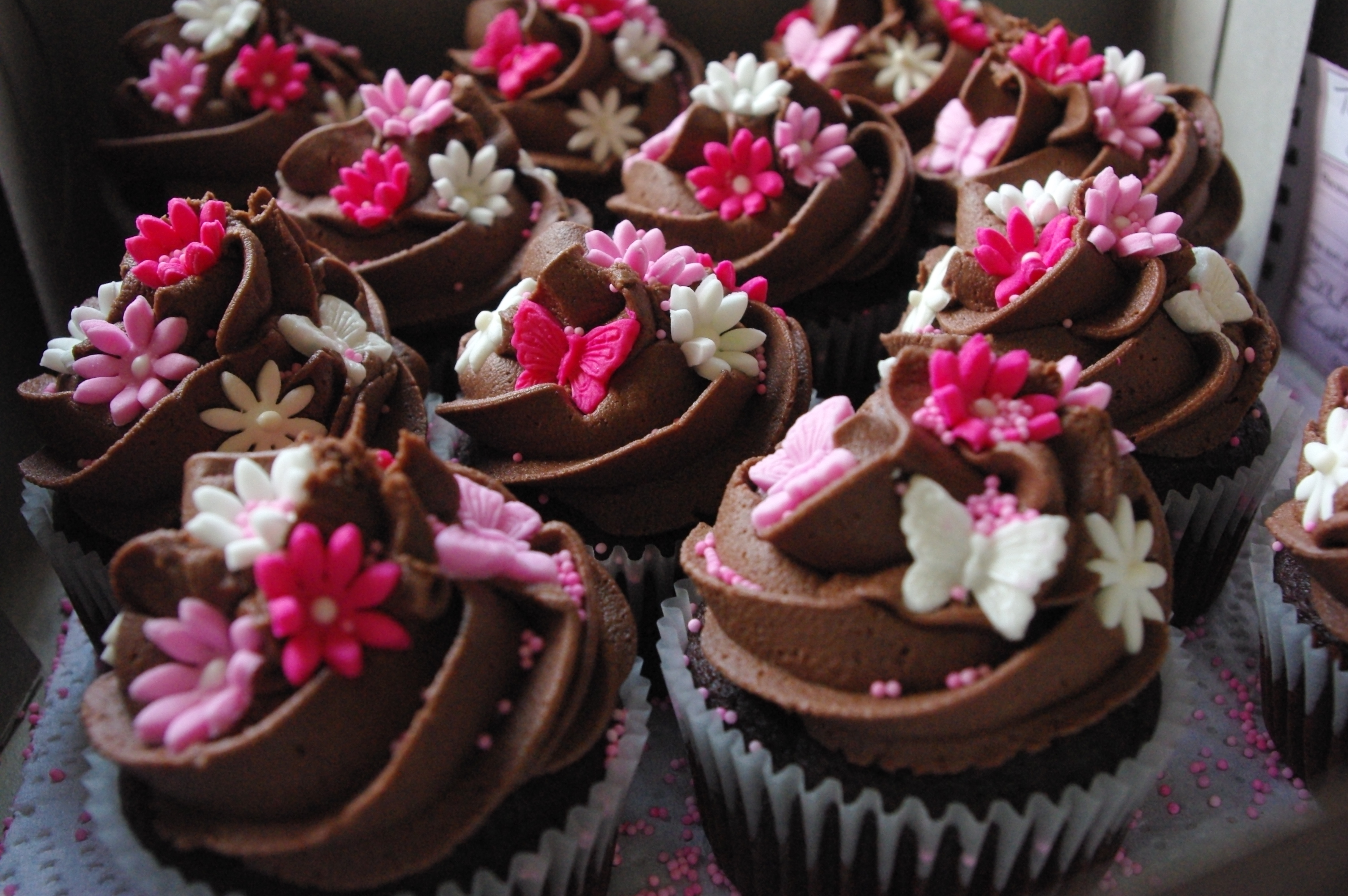 Cupcakes Are Pretty In Pink