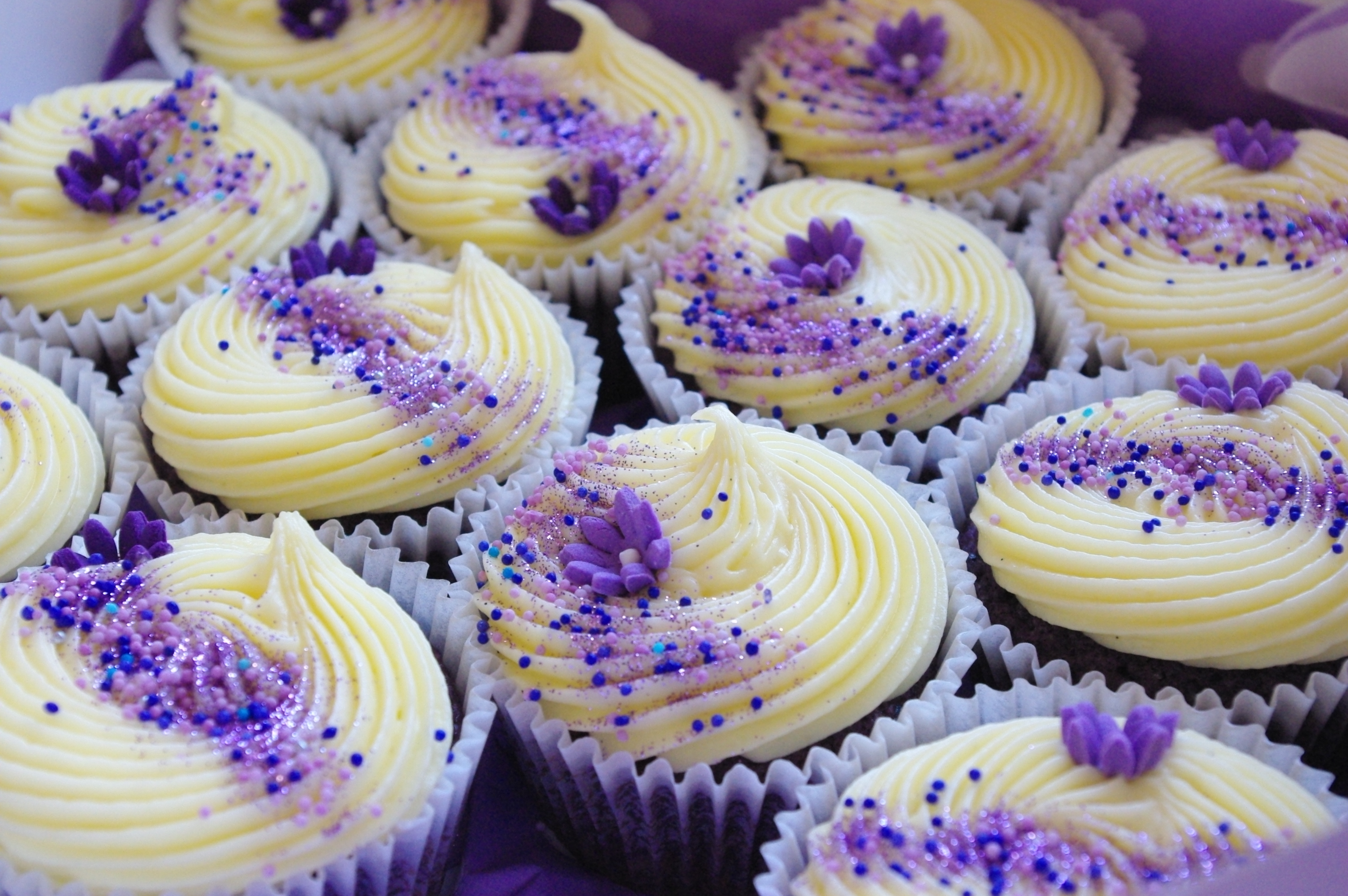 Purple Cupcakes submited images