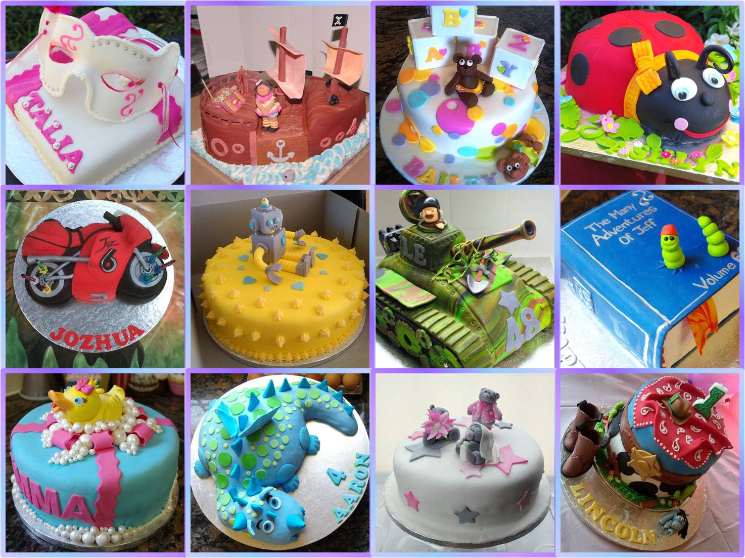 SpecialOfferCakesCollage