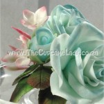 Cake artist, sugar artist, Vorna Valley, Midrand. hand made rose and jasmine, sculpted from royal icing flower paste