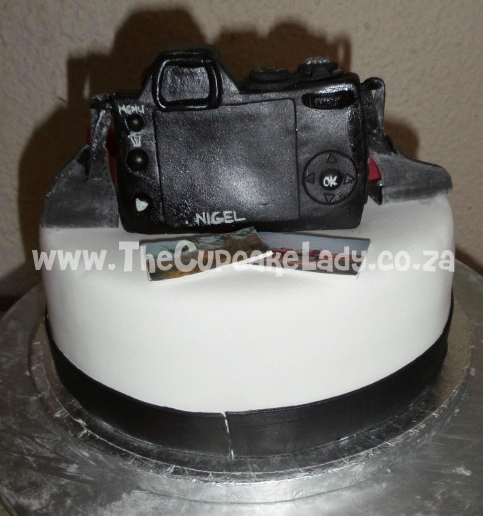 hand made sugar paste came cake topper