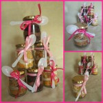 Cake artist, sugar artist, Vorna Valley, Midrand. Cupcake-in-a-ajr, ribbon, spoon